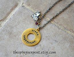 Proud Gryffindor - Hand Stamped by kittykat01