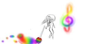 Rainbow Paint__ by The-Veiled-Android