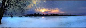 Wisconsin River Sunset by djserby