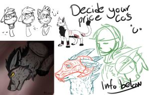 Set your own price commissions! 5 slots by NeF0rFan