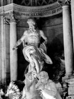 Roman Statue by Thishumanbeing