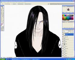 Orochimaru - work in progress by Kiara-Valentine