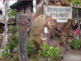 Expedition Everest Entrance by WDWParksGal