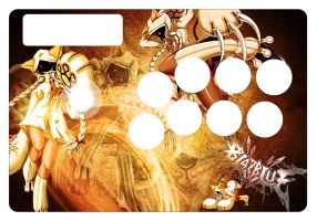 Taokaka Custom Fightstick Art by zulu94
