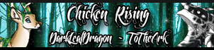 Chicken Rising banner by HiddenLeafDragon