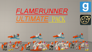 Flamerunner Ultimate Pack (Gmod and SFM) by XxFlamerunnerxX