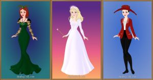 3 Witch Sisters of Oz by LadyAquanine73551