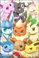 2013Eeveelution by ffxazq