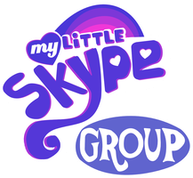 My Little Skype Group Logo by SnowflamePony