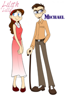 Lilly and Michael Wincet by kiki-kit