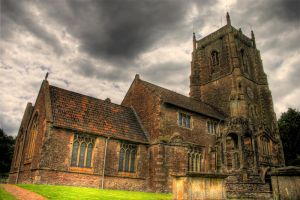 Iron Acton Church HDR 1 by AngiWallace