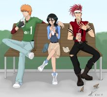 Lunchtime by Tenshi-Inverse