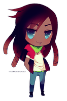 Chibi Commish: Kaden by chuwenjie