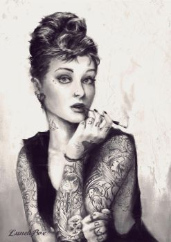 INKED AT TIFFANYS by TheStink411