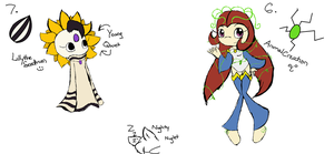 Seeds: LillytheSeedrian and AnimalCreation by Apricotthevixen