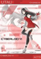 Cyberloid VI ACT3 boxart+Art concept by mylarha