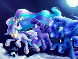 Night Flight by SubjectNumber2394