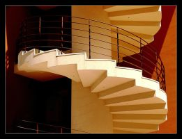 The Simplicity Of Form... Stairway by skarzynscy