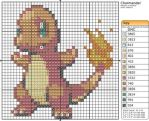 4 - Charmander by Makibird-Stitching