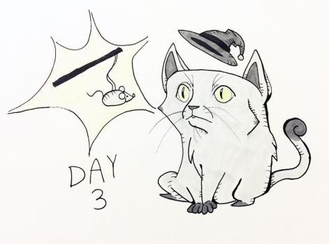 Inktober Day 3 by pandachick700