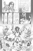 The Darkness comic page by ogi-g