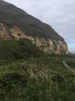 Horden cliffs from down below by AlexMinazukiBC6