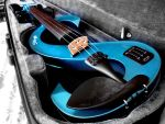 My electric violin by SolitudeMistress