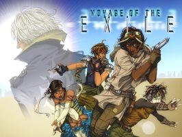 :: VOYAGE OF THE EXILE :: by cinderscar