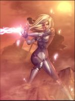 Dazzler XMEN Strikeforce COLOR by vest