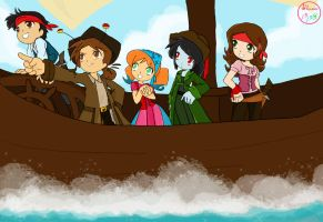 Latino Kaiser Pirates by BlossomPPG