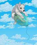 Mollys balloon ride by silverwolf1618