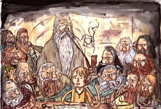 Hobbit by Iceland-Ink