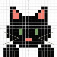 Cat Head Pattern by Narmita08