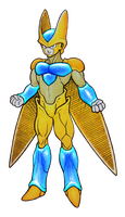 Super Golden Cell by DragonBoyTanton