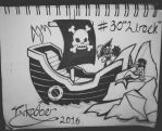 Inktober Day 30: (Wreck) by FeralDoodle