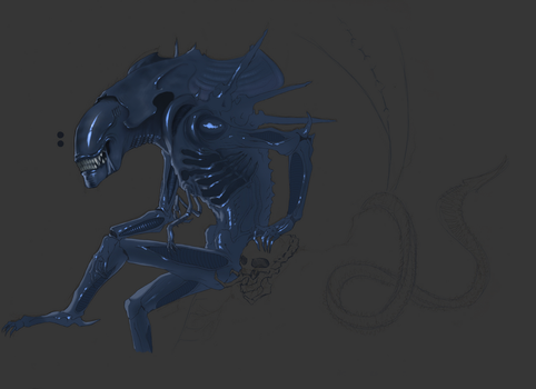 Unfinished Queen of Discordia by SweetyXenomorph