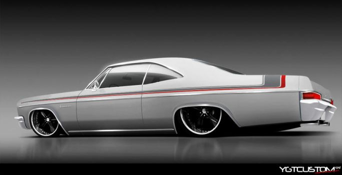 66 Impala White by ygt-design