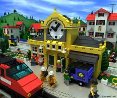 Lego, Clock1 by lantlant