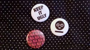 Killjoy buttons by Blissedd