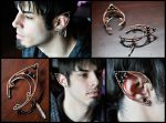Copper Elven Ear Wraps by XenOhm