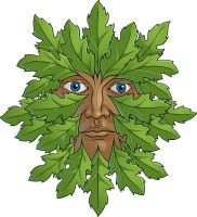 Green Man - colored by JohnRaptor