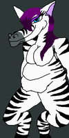Zebra girl by ChaosAlphaAndOmega