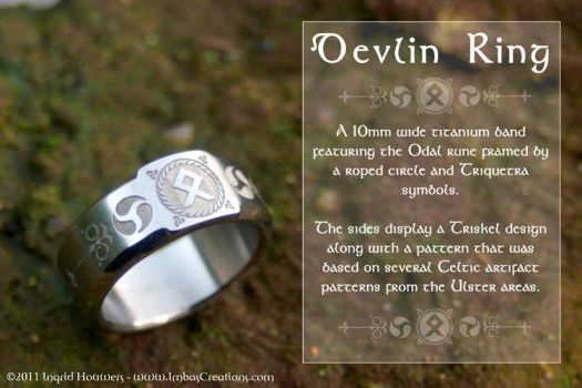 Devlin Ring by Illahie
