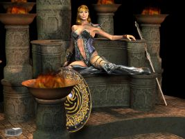 Barbarian Queen by Athenion
