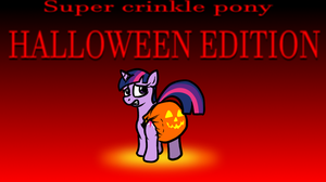 Super Crinkle Pony: THE SPOOPY UPDATE by hodgepodgedl