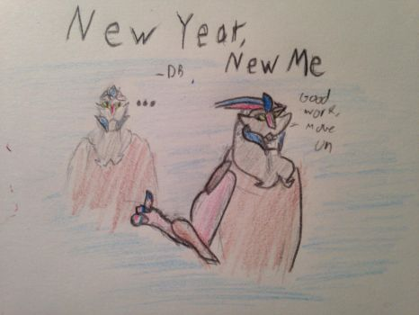 S-a-D: New Year, New me by DragonBot117