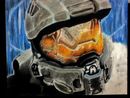 Master chief WIP close to finished. by poisonnova