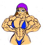 Muscular Girl 2 by Dairugger