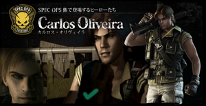 Resident Evil : Operation Raccoon City Carlos Fix by Therealmrox2
