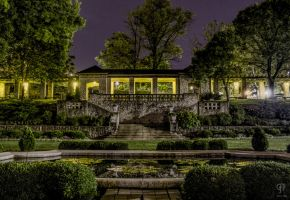 Night Time in the Governor's Garden by FabulaPhoto